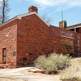 Winsor Castle Pipe Spring National Monument by Fred Stearns