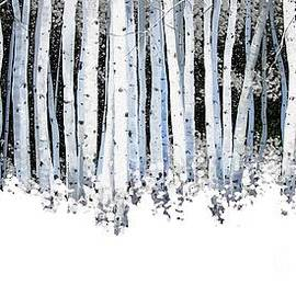 Michael Swanson - Winter Aspens