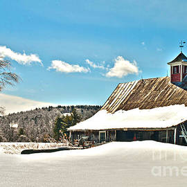 Winter Barn by Alana Ranney