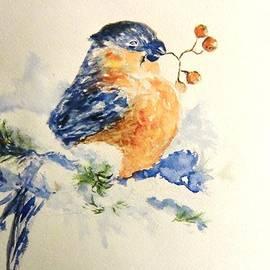 Winter Bird  by Liudmila Petarus