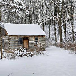 Doug Hagadorn - Winter Cabin by doug hagadorn