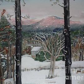 Jan Dappen - Winter - Cabin - Pink Knob