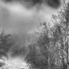 Winter Fog Cherry River by Thomas R Fletcher