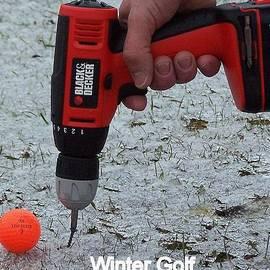 Frozen in Time Fine Art Photography - Winter Golf