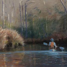 Christopher Reid - Winter Kayaker