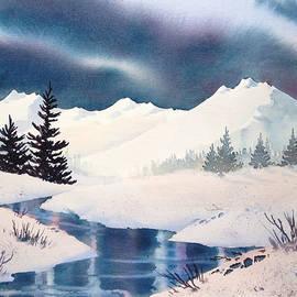 Winter Landscape by Teresa Ascone