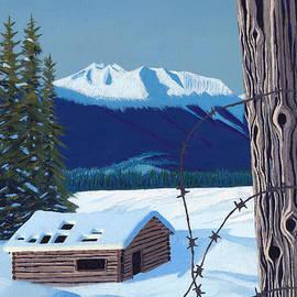 Stanza Widen - Winter Pioneer Cabin