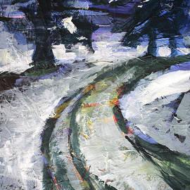 Winter Road by Nancy Merkle