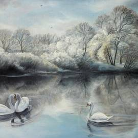 Winter story  by Sorin Apostolescu