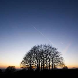 Anne Gilbert - Winter Sunset