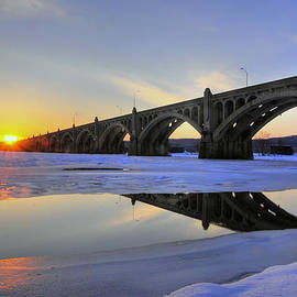 Winter Sunset by Dan Myers