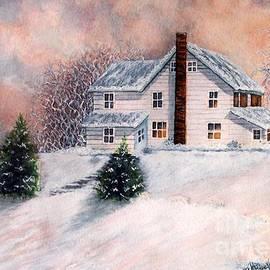 Janine Riley - Winter Sunset on Winterton