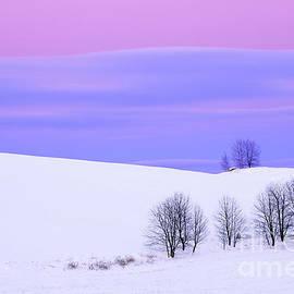 Alan L Graham - Winter Twilight Landscape