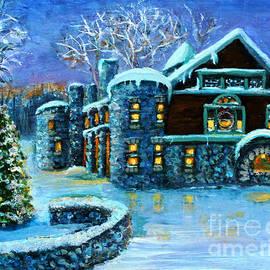 Rita Brown - Winter Wonderland at the Paine Estate