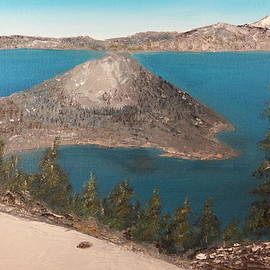 Tim Ai - Wizard Island - Crater Lake