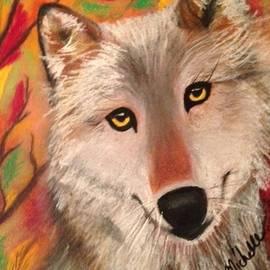 Renee Michelle Wenker - Wolf in Autumn