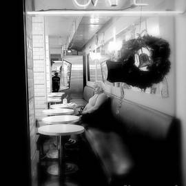 Miriam Danar - Woman in Cafeteria Window - Christmas Eve