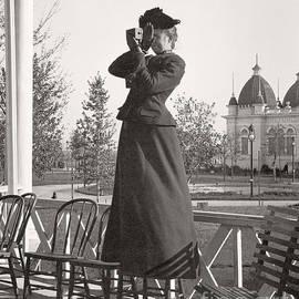 Woman Photographer 1898 by Martin Konopacki Restoration