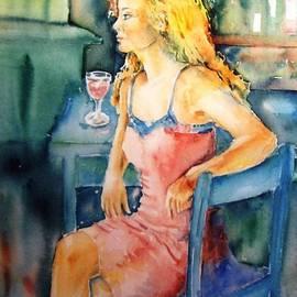 Woman waiting  by Trudi Doyle