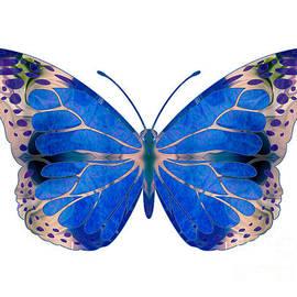 Omaste Witkowski - Wonderful Mysteries Abstract Butterfly Art by Omaste Witkowski