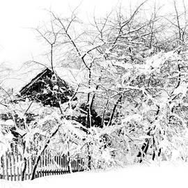 Jenny Rainbow - Wooden House after Heavy Snowfall. Russia