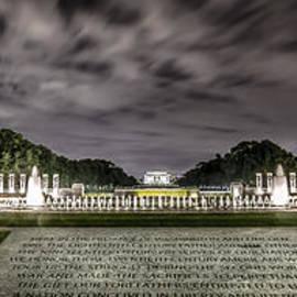 World War II Memorial by David Morefield