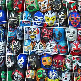 Jim Fitzpatrick - Wrestling Masks of Lucha Libre Altered II