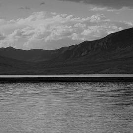 Wyoming Sunset in Black and White by Lisa Holland-Gillem