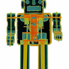 X-ray Robot - 3n2o No.7 by Roy Livingston