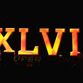 Xlvii Super Bowl Sign by Photography  By Sai