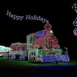 Thomas Woolworth - Xmas Tree Train Happy Holidays