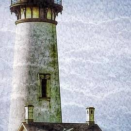 Yaquina Head Lighthouse Texture 3 by Susan Garren