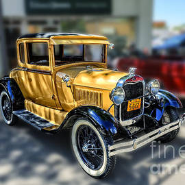 Yellow Ford 1929 by Viktor Birkus