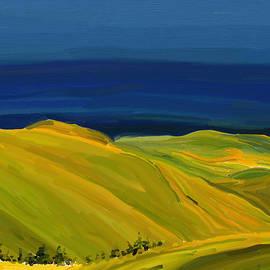 Yellow Hills by Eliza Donovan