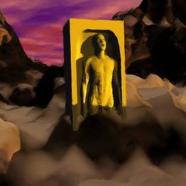55f22ade8ad6 Yellow Monolith-large by Peter Cochran ...