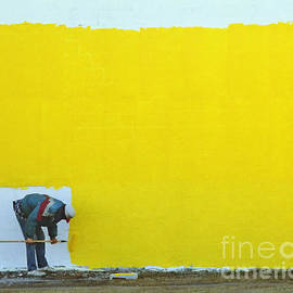 Yellow Paint by Tom Brickhouse
