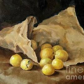 Karina Plachetka - Yellow plums