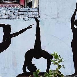 Kim Bemis - Yoga Wall Art - Rishikesh India