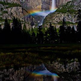 Yosemite Moonbow by John McGraw