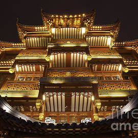 Yuyuan Imperial Rooftop to the sky by John  Botha