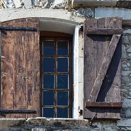 Z Window in Viviers France by Carla Parris