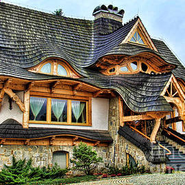 Zakopane Cottage  by Mariola Bitner