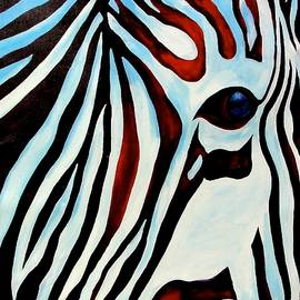 Zebra Face by Ras T