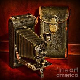 Vintage Pocket Kodak Camera by Paul Ward