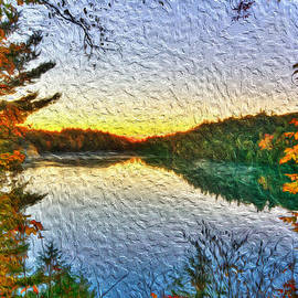 Andre Faubert - At the lake