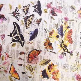 Butterfly Garden by Nicolas Bouteneff