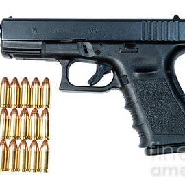 Glock Model 19 Handgun With 9mm