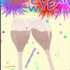 Debra     Vatalaro - Happy New Year Card