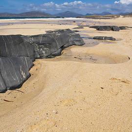 Hugh McKean - Landscape Traigh Mhor beach Finger of rock