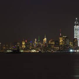 Theodore Jones - NYC Harbor View